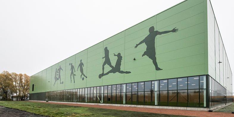 Åssiden fotballhall i Drammen